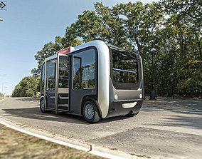 3D asset Driverless Bus