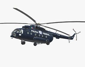Mi-17 Mexican Police 3D model
