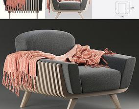 3D model Passoni Design Hamper Armchair