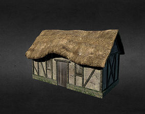 3D model game-ready Medieval house other