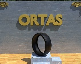 3D model ORTAS TIRE NO 14 GAME READY