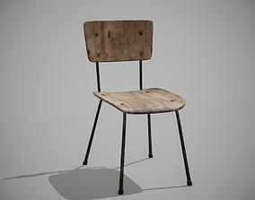 3D model School Old Chair