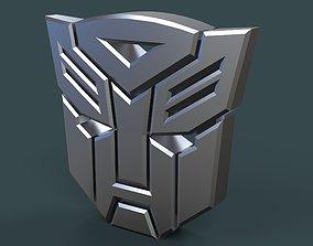 Autobots logo 3D