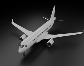 Airbus A220-300 3D