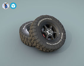BFGoodrich wheels for car 3D model