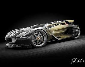 3D Peugeot EX-1