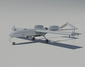 AII RQ-7 Shadow 200 Tactical UAV 3D