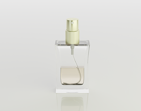Perfume bottle 3D cosmetic