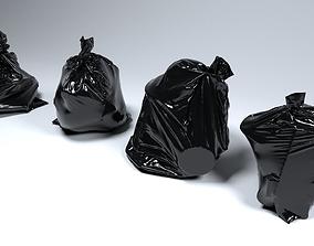 Trash Bag Set 3D