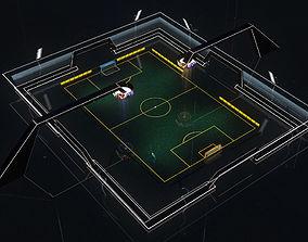 Stadium Soccer Glow 3d model