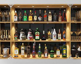 chivas Bar Set Grand 3D