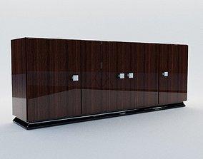 3D model art Commode - Art Deco style