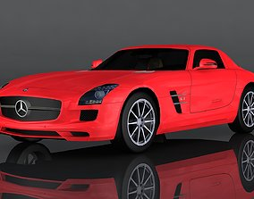 3D model Mercedes-Benz SLS AMG