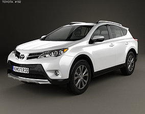 3D model Toyota RAV4 XA40 EU-spec 2013