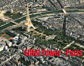 Eiffel Tower Paris 3D model