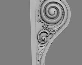 3D print model element Bracket1