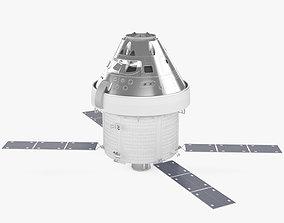 Orion spacecraft 3D model