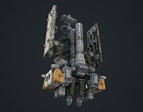 scifi-modelx497-UV-PBR 3D asset
