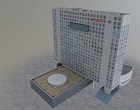 3D asset Amsterdam Fortis