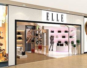 3D model ELLE SHOWROOM