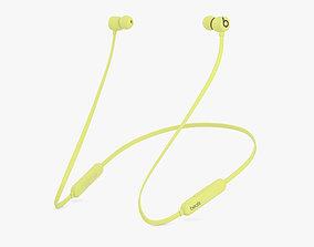 Beats Flex Yuzu Yellow 3D