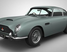 3D Aston Martin DB5