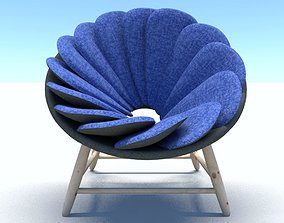 3D furniture modernchair Chair