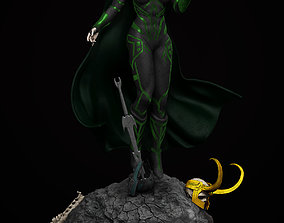 Hela - Thor Ragnarok 3D print model