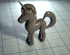 unicorn figure 3D printable model
