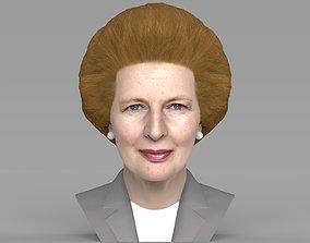 Margaret Thatcher bust ready for full color 3D