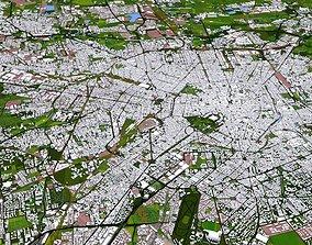 VR / AR ready Milan Milano City of Italy Europe 3d model