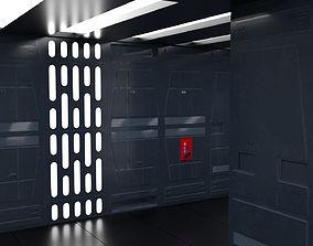 SciFi Wall Panels - 19 Parts - Walls and Details 3D