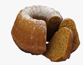 Gugelhupf Cake 3D