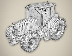Tractor basemesh 3D model