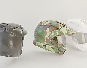 bike helmet gear 3D model