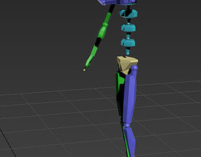 3D model Look at the watch 2