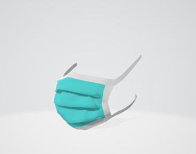 3D rigged Medical Mask