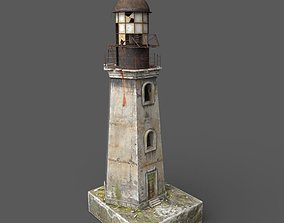 3D asset Abandoned Lighthouse