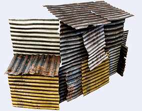 3D asset Salvage Metal Collection PBR