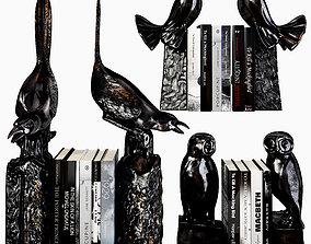 3D model Eichholtz bookends birds