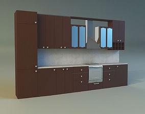 regions 3D model Kitchen