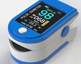 model Pulse Oximeter 3D