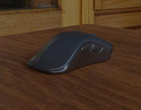 Computer Mouse - Low Detail 3D
