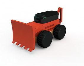 Backhoe 3D print model