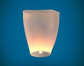 3D model Sky lantern