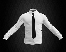 Shirt and Tie 3D model