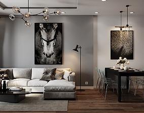 3D model Beautifull Apartment Desigin