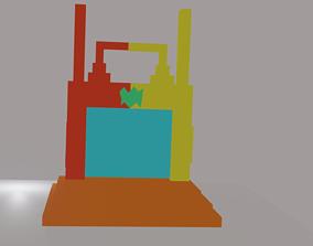 3D model SCI-FI DOOR science
