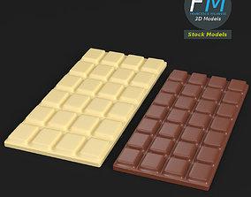 Chocolate bars 3D model