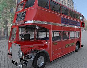 Bus AEC London Studio Max 3D model